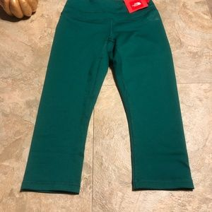 North Face Capri Leggings Teal Size small